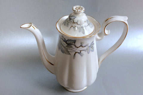 Royal Albert - Silver Maple - Coffee Pot - 2 1/4pt - The China Village