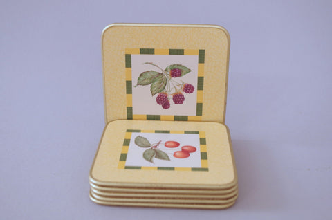 "Churchill - Somerset - Coasters - 4"" x 4"" (pack of 6) - The China Village"