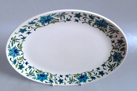 "Midwinter - Spanish Garden - Oval Platter - 11 7/8"" - The China Village"