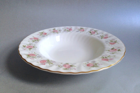 "Minton - Spring Bouquet - Rimmed Bowl - 8 1/4"" - The China Village"
