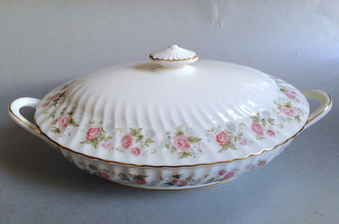 Minton - Spring Bouquet - Vegetable Tureen - The China Village