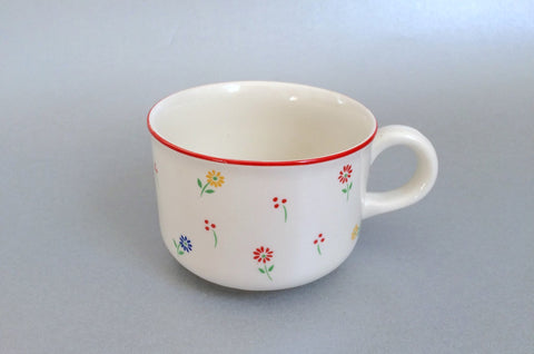 "BHS - Summer Flowers - Teacup - 3 3/8 x 2 1/2"" - The China Village"