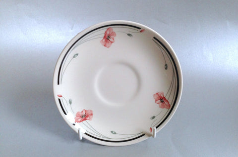 "Johnsons - Summerfields - Tea Saucer - 5 5/8"" - The China Village"