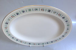 "Royal Doulton - Tapestry - Oval Platter - 13"" - The China Village"