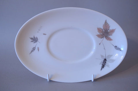 Royal Doulton - Tumbling Leaves - Sauce Boat Stand - The China Village