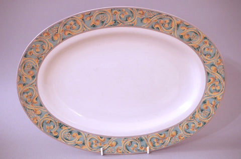"BHS - Valencia - Oval Platter - 14 1/2"" - The China Village"
