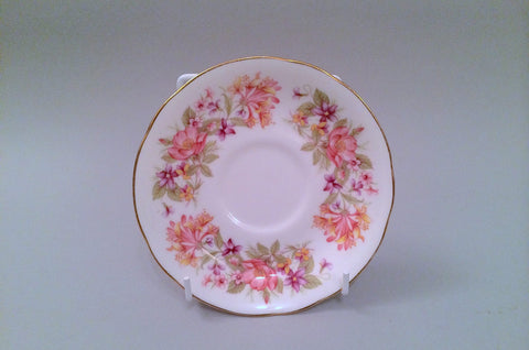 "Colclough - Wayside - Tea Saucer - 5 1/2"" - The China Village"