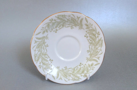 "Paragon - Whispering Grass - Tea Saucer - 5 1/2"" - The China Village"