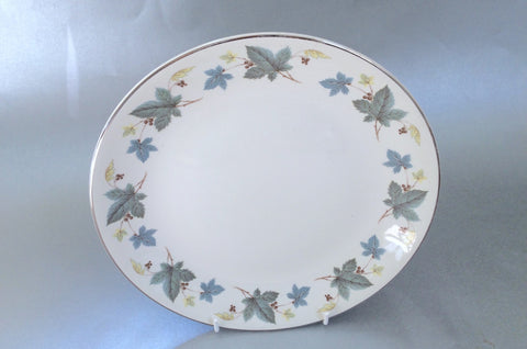 "Ridgway - White Mist - Vinewood - Bread & Butter Plate - 9"" - The China Village"