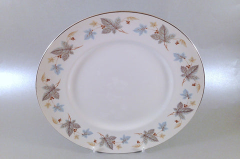 "Ridgway - White Mist - Vinewood - Dinner Plate - 9 3/4"" - The China Village"