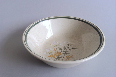 "Royal Doulton - Will O' The Wisp - Thick Line - Cereal Bowl - 6 1/4"" - The China Village"