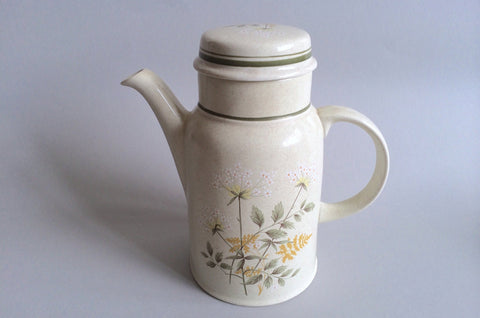 Royal Doulton - Will O' The Wisp - Thick Line - Coffee Pot - 2 1/2 pt - The China Village