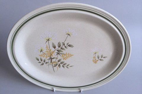 Royal Doulton - Will O' The Wisp - Thick Line - Oval Platter - 13 1/2""