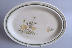 "Royal Doulton - Will O' The Wisp - Thick Line - Oval Platter - 16 1/4"" - The China Village"