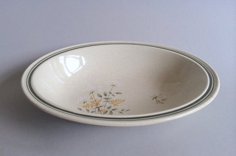 "Royal Doulton - Will O' The Wisp - Thick Line - Vegetable Dish - 10 3/4"" - The China Village"