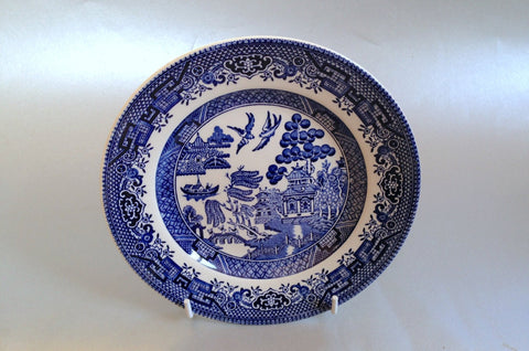 "Churchill - Willow - Blue - Side Plate - 6 5/8"" - The China Village"