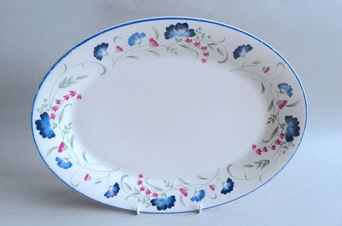"Royal Doulton - Windermere - Expressions - Oval Platter - 13 1/2"" - The China Village"