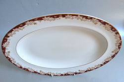 "Royal Doulton - Winthrop - Oval Platter - 13 5/8"" - The China Village"