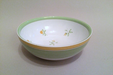 Marks & Spencer - Yellow Rose - Cereal Bowl - 6""