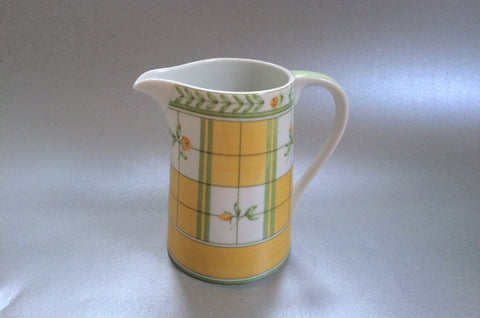 Marks & Spencer - Yellow Rose - Milk Jug - 1/2pt - The China Village