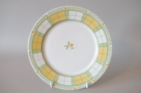 "Marks & Spencer - Yellow Rose - Starter Plate - 8"" - The China Village"