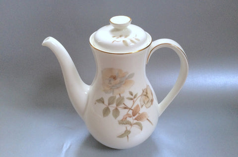 Royal Doulton - Yorkshire Rose - Coffee Pot - 2 1/4pt - The China Village