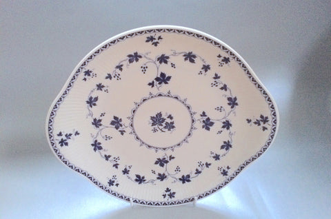 "Royal Doulton - Yorktown - Old Style - Ribbed - Bread & Butter Plate - 10 3/8"" - The China Village"