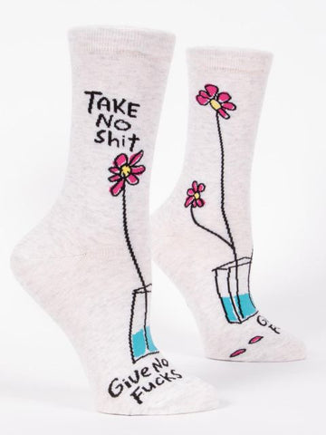 W-CREW SOCKS - Take no shit
