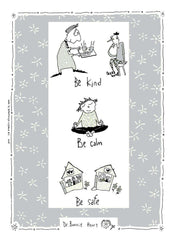 Dr. Bonnie Henry STAY CALM - COTTON TEA TOWEL