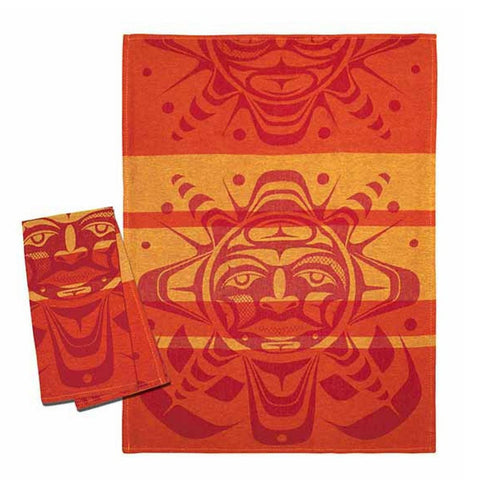 Tea Towel - Sun by Paul Windsor