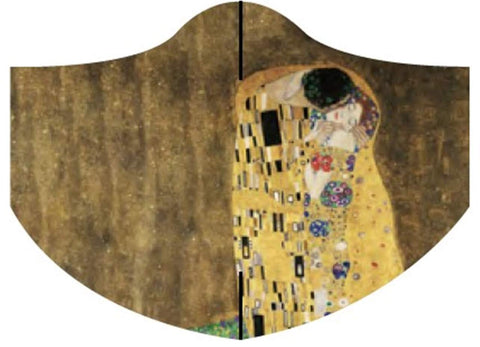 Loqi Museum Face Mask-Gustav Klimt The Kiss