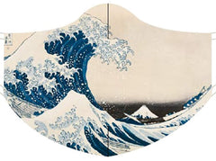 Loqi Museum Face Mask- Katsushika Hokusai The Great Wave
