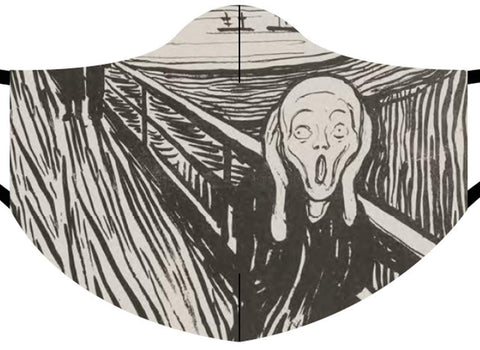 Loqi Museum Face Mask- Edvard Munch Scream