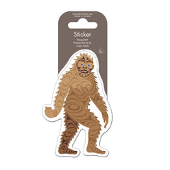 Sticker - Sasquatch by Francis Horne Sr.