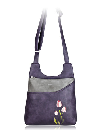 Tulip Messenger Purple