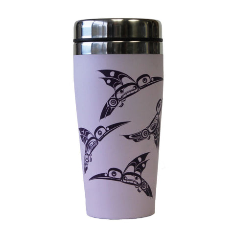 Travel Mug - Hummingbirds by Eric Parnell