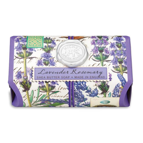 Lavender Rosemary Shea Butter Large Bar Soap