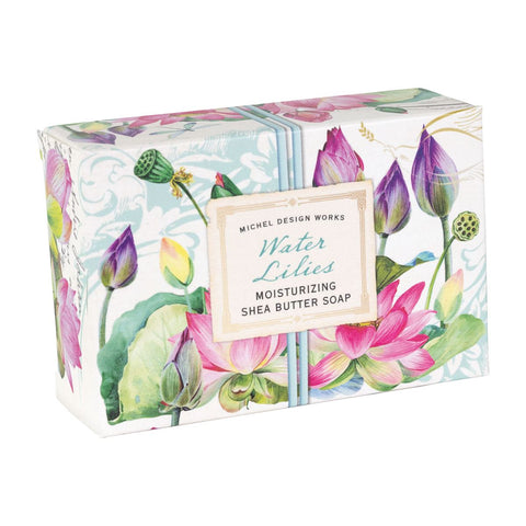 Water Lilies Boxed Soap