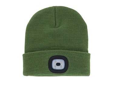 Night Scout™ Rechargeable LED Toque/Beanie