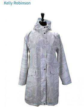 Kelly Robinson Raven Transforming Rain Coat