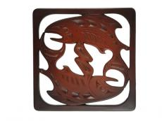 Salmon Trivet By Mark Garfield