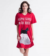 Scotch on the Rocks Women's Sleepshirt