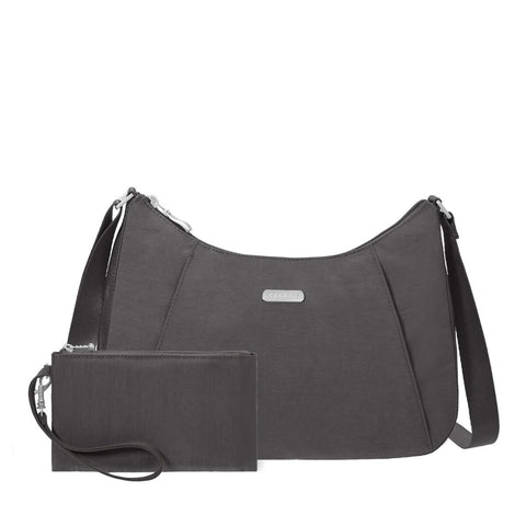 RFID Slim Crossbody Hobo Bagg