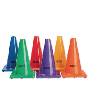 "Spectrum™ Poly Cones, 12"" (Set of 6)"