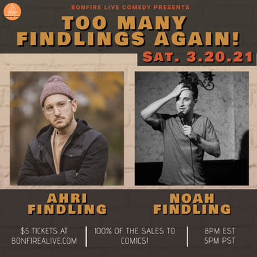 Too Many Findlings Again! (Saturday, March 20th at 8PM EST)