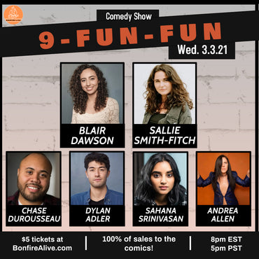 9-Fun-Fun (Wednesday, March 3rd at 8PM EST)