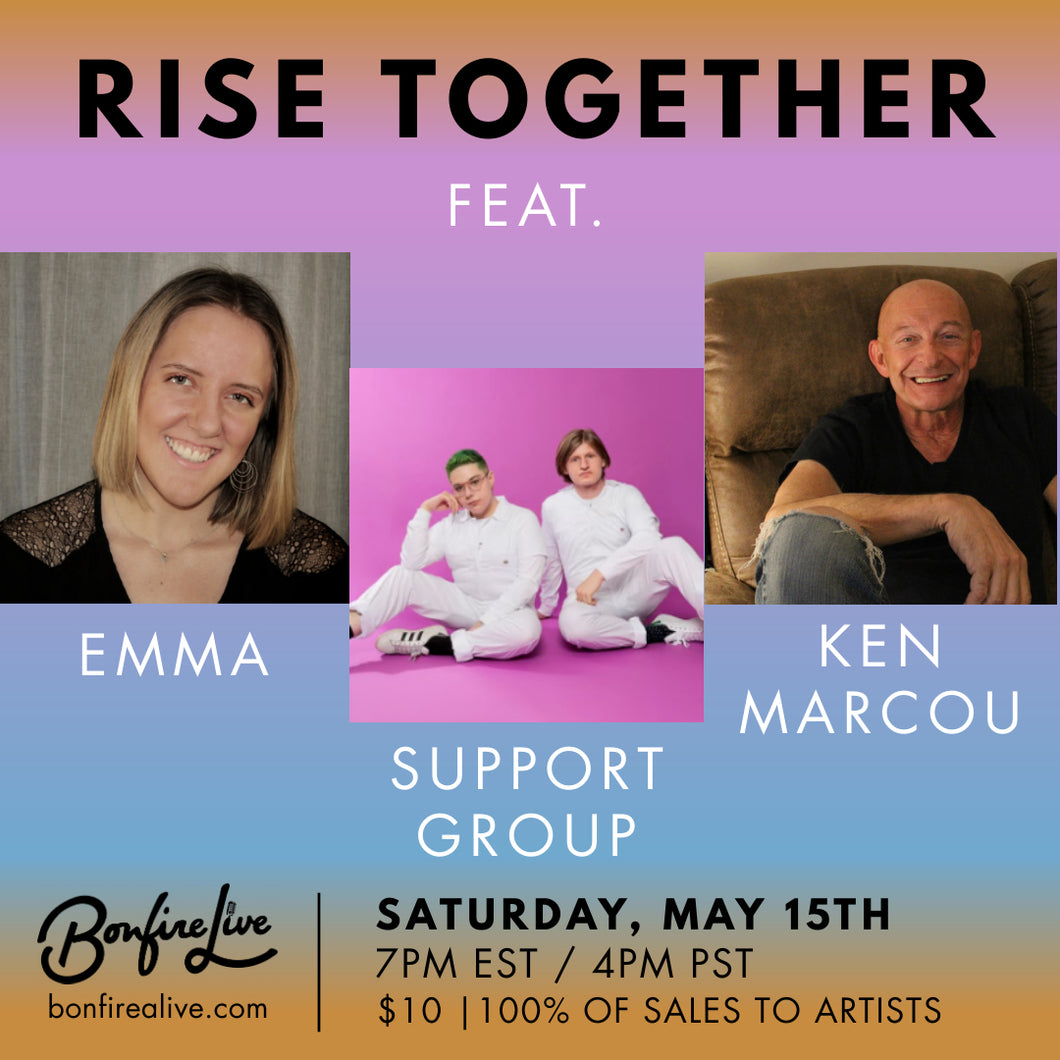 RISE TOGETHER (Saturday, May 15th at 7PM EST)
