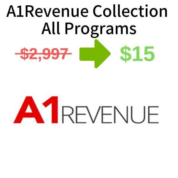 A1Revenue Collection - All Programs FREE DOWNLOAD
