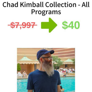 Chad Kimball Collection - All Programs FREE DOWNLOAD