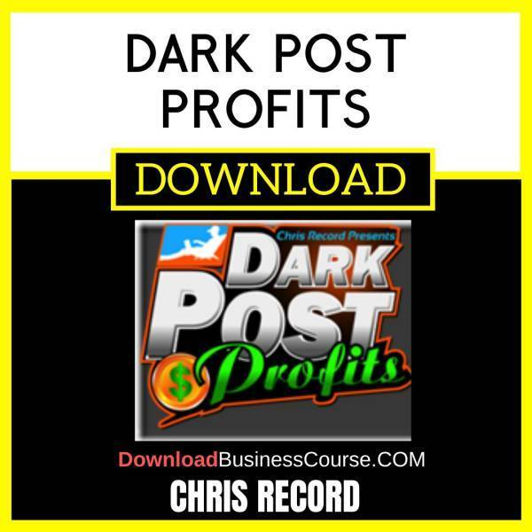 Chris Record Dark Post Profits FREE DOWNLOAD